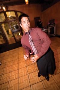 Drunk pose